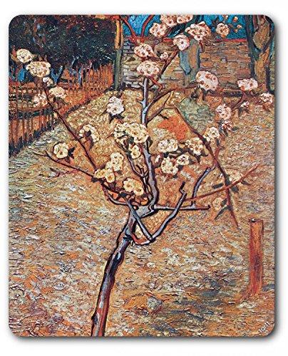 1art1-89040-vincent-van-gogh-bluhender-birnbaum-1888-detail-mauspad-23-x-19-cm