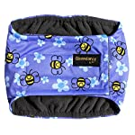 Glenndarcy Male Dog Belly Band | Urine Incontinence | Buzzy Bee XS Band only