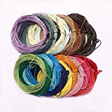 #6: Generic 2mm Waxed Nylon Cord Jewellery Making String Findings 10m - dark royal blue