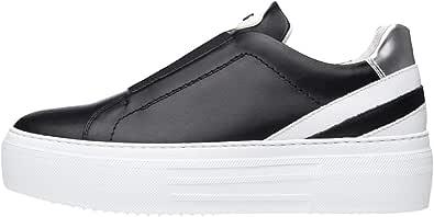 Nero Giardini E010881D Sneakers Donna in Pelle E Tela
