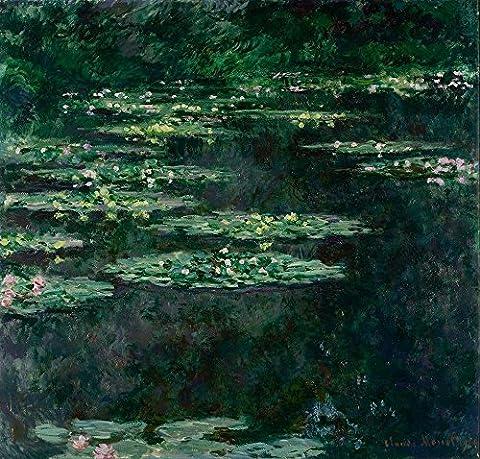 Claude Monet - Waterlilies Dark - Extra Large - Semi Gloss Print