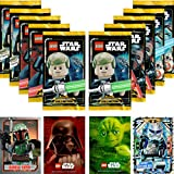LEGO Star Wars Trading Card Collection Serie 1: 10 Booster + Bonus Karte + LE-Karte (LE10 Action Captain Rex)