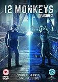 12 Monkeys - Season 2 [DVD] [2016] UK-Import, Sprache-Englisch