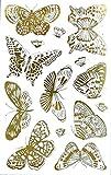 AVERY Zweckform 57024 Deko Sticker Schmetterlinge 28 Aufkleber
