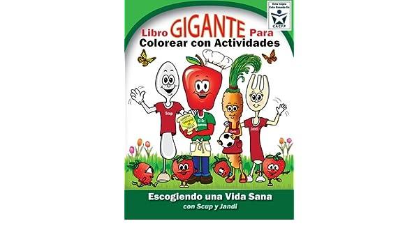 Buy Libro Gigante Para Colorear con Actividades; Escogiendo una Vida ...