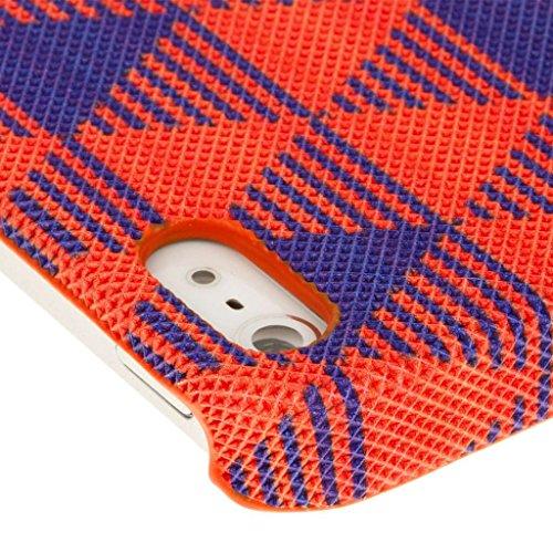 EMPIRE Signature Serie Slim-Fit Schutzhülle für Apple iPhone 5/5S _ P Red Modern Edge