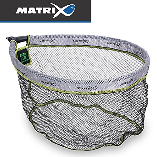 Fox Matrix Supa lite free flow landing net 45x35cm - Kescherkopf für Unterfangkescher zum Stippangeln & Feederangeln, Stippkescher
