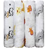 Cuddlebug Langes Coton Bébé | Couverture Bébé | 5 Couleurs | Couverture Émmaillotage | Mousseline de Coton Lavable | Cadeau N