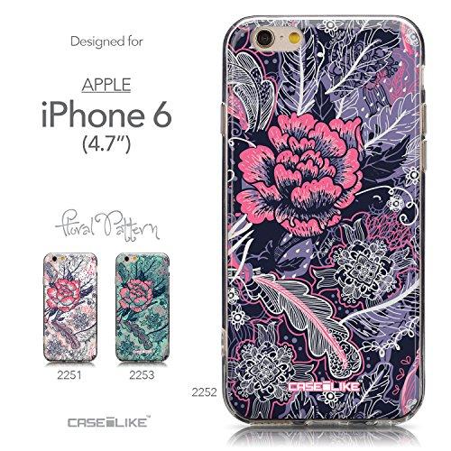 CASEiLIKE Wandschmierereien 2703 Ultra Slim Back Hart Plastik Stoßstange Hülle Cover for Apple iPhone 6 / 6S (4.7 inch) +Folie Displayschutzfolie +Eingabestift Touchstift (Zufällige Farbe) 2252