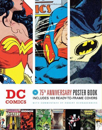 DC 75th Anniversary Poster Book