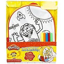 Play-Doh Unisex School Backpack, Multi Color PLD-Y17-4253