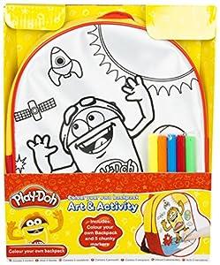 Sambro Play-doh Colorea tu Propia Mochila, Arte de Dibujo y Manualidades para niños