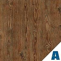 Artesive WD-023 Madera Rústico Oscuro 90 cm x 2,5 mt. - Película adhesiva Vinilo efecto Madera para la decoración de la casa, muebles, puerta y todas las superficies lisas