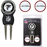 Atlanta Falcons NFL Divot Tool w/ Three Double Sided Ball Marker