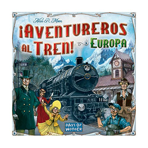Aventureros Al Tren Juego De Mesa Edge Entertainment Edgdw7202