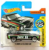 #9: Hot Wheels - '73 BMW 3.0 CSL Race Car Black 2017 HW Speed Graphics #57/365 [Short Card]