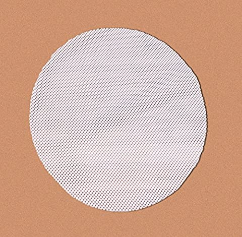 Homankit Pack of 5 Dim Sum Steamer Papers / Silicone Steamer Mat for Bamboo Steamer / Steamer Inserts | 28cm in Diameter | Reusable, Flexible, Non-Stick, Easy To Clean | Cut to Fit Healthy Steamer Mats,BPA free and FDA and LFGB