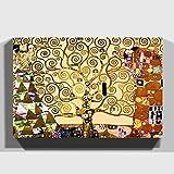 Big Box Art 'El árbol de la Vida de Gustav Klimt Lienzo Decorativo Listo para Colgar, 20x...