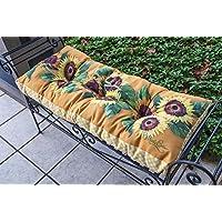 Sunflower 42x 17indoor outdoor cuscino per panca
