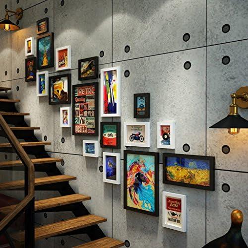 CAOYU,Photo Wall Wall Wall europeo Parete creativa della foto della decorazione del corridoio di combinazione della parete della foto della scala retro industriale Photo Frame   Negozio online di vendita    Di Qualità Fine    Attraente e durevole  493a7f