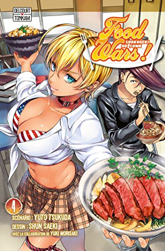 Food wars Vol.4