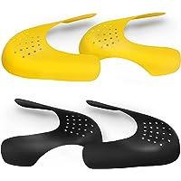 N/U Jrooupmy Contre les Plis de Chaussures, 2 Paires Boucliers de Chaussures Respirant Antidérapant, Bouclier de…
