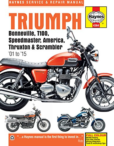Triumph Bonneville 2001 - 2015 (Haynes Service & Repair Manual) por Anon
