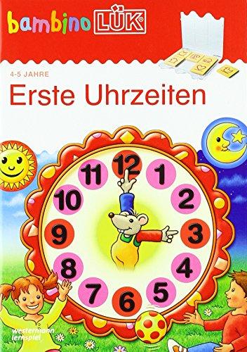 bambinoLÜK-Übungshefte / Vorschule: bambinoLÜK: 4/5 Jahre - Vorschule: Erste Uhrzeiten