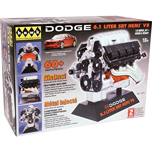 hawk-models-61-l-16-scale-dodge-srt-hemi-v8-engine-kit