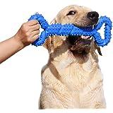 Giochi da masticare resistenti per cani grandi 13 pollice Forma dell'osso Giocattoli per cani con Design convesso duri giochi