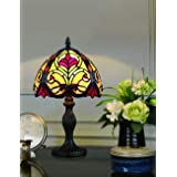 8 pouces Style lampe de table chambre lampe de chevet mode créatif rétro lampe à la main