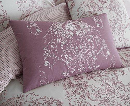 Toile Betten Range in pink, Boudoir Cushion