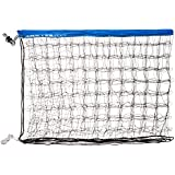 Park & Sun Sports Regulation Size Indoor/Outdoor Recreational Volleyball Net with Rope Cable Top, Blue