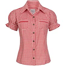 more photos c41f0 8ca8b Amazon.it: Camicia a quadretti rossa e bianca - Rosso
