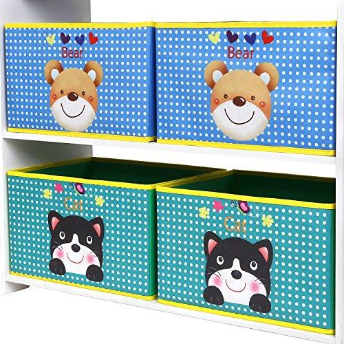 Scaffali E Librerie Per Bambini.Homfa Scaffale Per Giocattoli Libreria Per Bambini Organizzatore