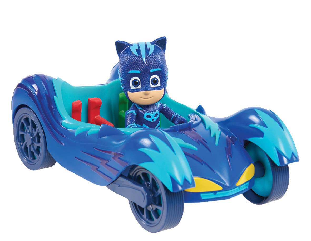 PJ Masks Vehicle /& Figure Catboy Cat Car Flair Leisure Products JPL95296