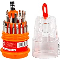 MINISO Screwdriver Set, Steel 31 in 1 with 30 Screwdriver Bits, Professional Magnetic Driver Set, for PC/Household…