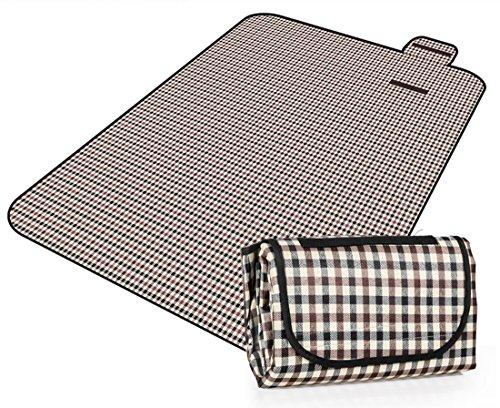 Honeystore 200 * 150 Oxford Yoga Matte Strand Ausflug Picknickdecke mit Wasserabweisender Unterseite A03