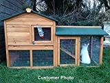Kaninchenstall, Feel Good UK, doppelstöckig, inklusive Freilaufgehege - 3