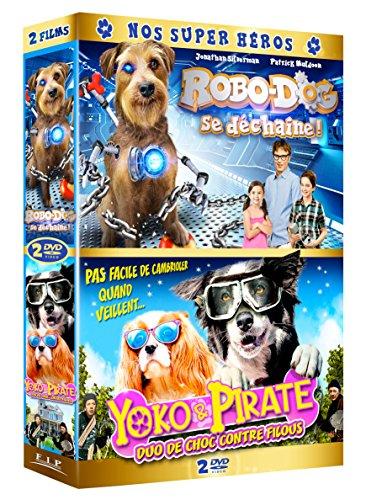 Preisvergleich Produktbild Coffret famille 2 films : robo-dog se déchaîne ; yoko et pirate,  duo de choc contre filous [FR Import]