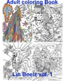 Adult Coloring book Chicken (Adult Coloring books)