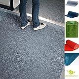 MadeInNature Tappeto Indoor o Outdoor in Erba Sintetica | Fondo con Borchie | Dimensione e Colore Scelta (300 x 200 cm, Grigio)