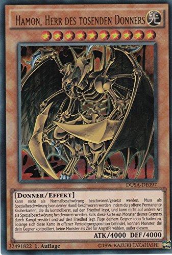 DUSA-DE097- Hamon, Herr des tosenden Donners- Ultra Rare - Yu-Gi-Oh - Deutsch - 1. Auflage