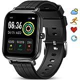 GOKOO Reloj Inteligente Hombres Smartwatch Monitor de Actividad con 24 Modos Deportivos Pulsómetro Calorías Monitor de Sueño