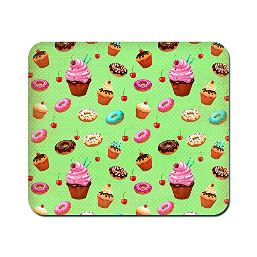 kmltail Vintage Cakes Design Speed Mouse Mat for HP Dell Lenova iball Dragonwar Red Dragon Logitech ibuypower Zebronics Printed Photo Scene Natural Rubber Gaming Mouse Pad Non Slip base-Kmltail  available at amazon for Rs.159
