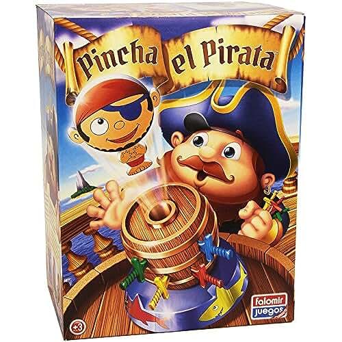 10cm 16 Sipobuy Mini Pop Up Pirate Fun Barrel Juego de grupo de acci/ón preescolar para ni/ños
