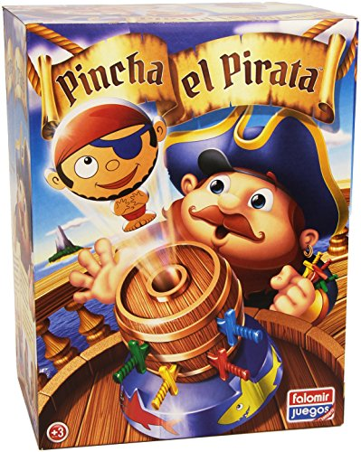 Falomir- Pincha El Pirata Mesa. Juego de Habilidad. (646476)