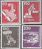 BRD (BR.Deutschland) 990-994 (kompl.Ausgabe) 1978 Industrie und Technik (Briefmarken für Sammler)