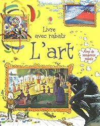 L'art : Livre avec rabats