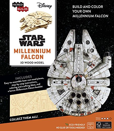 Incredibuilds. Star Wars. Millennium Falcon. 3D Wood Model por Kogge Michael